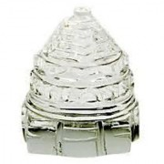 Crystal (sfatik) Sri Yantra Shri Laxmi Yantra 10-15 Gram