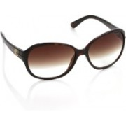 IDEE Over-sized Sunglasses(Brown)