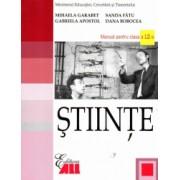 Stiinte manual pentru clasa a XII-a autor Mihaela Garabet