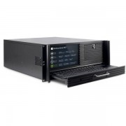 Carcasa server Inter-Tech IPC4U-4452-TFT, display TFT (Negru)