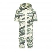 Onepiece Cargo Short Jumpsuit Camouflage