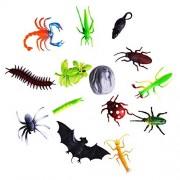 Animal Figures Mini Insect Animal Figure Toys Kids Educational Toy Set of 12