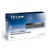 SWITCH TP-LINK TL-SF1024D 24PTOS FAST SOPORTE RACK 13 -NEGRO