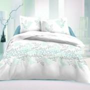 Lenjerie pat 1 pers. Victoria Luxury Collection, albă, satin, 140 x 220 cm, 70 x 90 cm, 140 x 220 cm, 70 x 90 cm