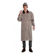 Cargus Disfraz de Sherlock Holmes para hombre - Talla S