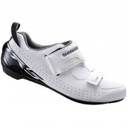 Shimano TR5 SPD-SL Triathlon Shoes - White - EU 45 - White