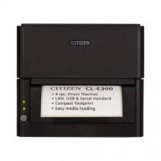 Етикетен принтер Citizen CL-E300, 203DPI, Ethernet, черен