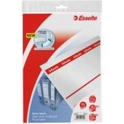 Etichete printabile pentru biblioraft 75 mm Esselte 50/set