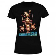 Moana Fear The Kakamora Women's T-Shirt - Black - S - Black