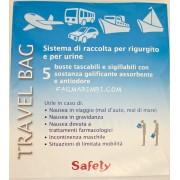 Travel bag, Safety