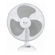 Настолен вентилатор Rohnson R 852, 3 скорости, 40 см. диаметър, 55W, бял