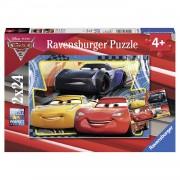 Ravensburger puzzelset Disney Cars 3 Bliksem + Cruz + Jackson - 2 x 24 stukjes