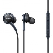 AKG EO-IG955 Earphone Handsfree Headset with Mic Volume Key Headset with Mic (Black In the Ear)