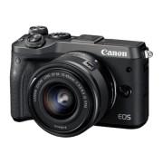 CANON EOS M6 Zwart + 15-45mm f/3.5-6.3 IS STM Zwart