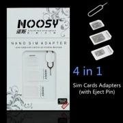 Micro en Nano Sim kaart Adapter Set met Pin
