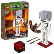 LEGO Minecraft: BigFig Csontváz magmakockával 21150