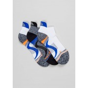 US Athletic Mens 3 Pack US Athletic Technical Trainer Socks in Sizes 6 - 8.5, White
