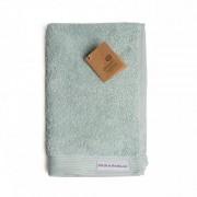 Dille&Kamille Serviette d'invité, coton bio, vert céladon, 30 x 50 cm