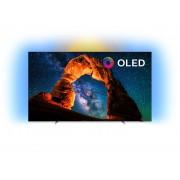 Televizor OLED Philips 55OLED803/12, Smart TV, Android TV, 139 cm, 4K Ultra HD, Clasa energetica B, Argintiu