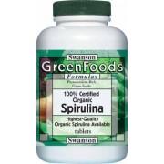 Swanson Spirulina 500mg alga tabletta 180db