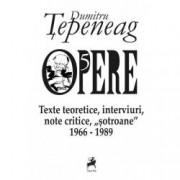 Opere V. Texte teoretice interviuri note critice sotroane 1966-1989
