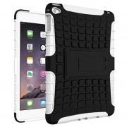 Capa Híbrida Anti-Deslizante para iPad Mini 4 - Preto / Branco