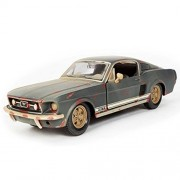 KMT 1:24 Scale Ford 1967 Mustang GT Alloy Diecast Car Models Model