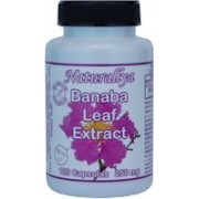 Banaba Leaf Extract 250mg 120 capsulas