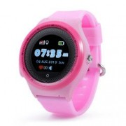 Ceas smartwatch GPS copii Wonlex KT06 telefon touchscreen rezistent la apa pozitionare GPS+AGPS+WiFi+Beidou Buton SOS monitorizare spion