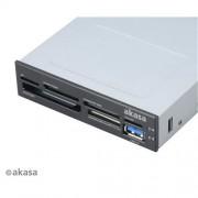 Čítačka kariet AKASA i/e USB 2.0 interná + USB 3.0