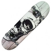 Skateboard Nextreme Tribe Pro White Skull