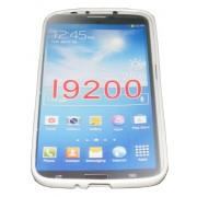 Силиконов гръб ТПУ за Samsung Galaxy I9200 Mega 6.3 Бял