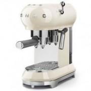 Smeg 50's Style Retro Espresso Coffee Machine Free Delivery - Vintage Cream