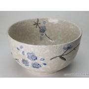 Snowflake mintás, Japán Rizstál, Levesestál - 11 cm