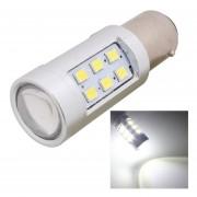 1157 4.2w 630lm Blanco Light 21 Led 2835 Smd Car Brake Light Steering Light Bulb, Constant Current, Dc 12-24v