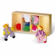 VIGA drvene lutke za oblačenje 8936