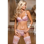 Lolita stringi brasiliana V-4235 (różowy)