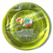 Set 15 farfurii plastic 20.6 cm PET ARISTEA galben