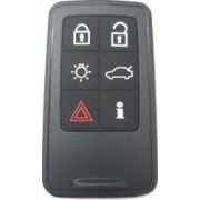 Carcasa cheie Smartkey compatibil Volvo 6 butoane fara lamela negru