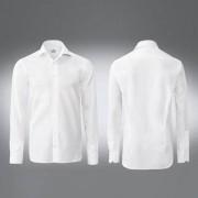 van Laack premium overhemd 'Royal' Tailor Fit of Slim Fit, 39 cm - wit - Tailor Fit, 1-knoopsmanchetten, mouwlengte 67 cm