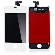 Apple Ytterglas Display LCD, Digitizer till vit iPhone 4S