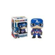 Funko Pop Captain America 125 Capitão America Guerra Civil (civil War) Marvel