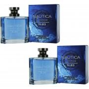 Paquete 2X1 Nautica Voyage N-83 100 Ml Edt Spray de Nautica