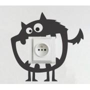 Sticker pentru prize, Monstrulet