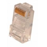 Conector Plug RJ45 Categoria 5 para cable UTP