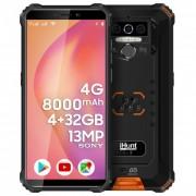 Telefon mobil iHunt Titan P8000 PRO Dual Sim, 4G, RAM 4GB, Stocare 32 GB, Orange/Black