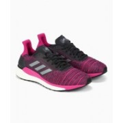 ADIDAS CARBON/GRETHR/REAMAG Running Shoes For Women(Pink)