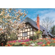 The House of Puzzles - 500 Piece Puzzle April Flowers