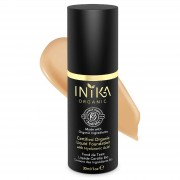 INIKA Certified Organic Liquid Mineral Foundation (Various Colours) - Tan