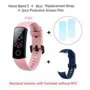 Huawei Honor Band 5 banda inteligente con NFC oxímetro pantalla de Color Monitor de ritmo cardíaco